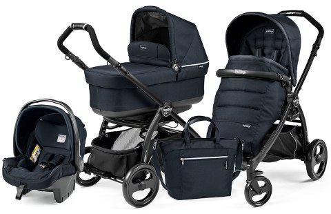 BOOK PLUS POP-UP COMPLETO MODULAR 3w1 Peg Perego - luxe blue night