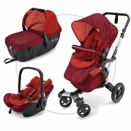Concord Wózek Neo 3w1 Travel Set (Sleeper + Air Safe) Flaming Red