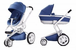 MOODD 2w1 gondola Foldable Quinny - Blue Base