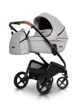 EXPRESS Euro-Cart 2w1 wózek głęboko-spacerowy - grey fox