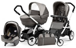 BOOK 51 ELITE SPORTIVO MODULAR CLASS Peg Perego (Stelaż Book 51 + Set Elite Sportivo + Siedzisko Pop-Up Sportivo) - class grey
