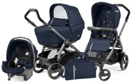 BOOK 51 ELITE SPORTIVO MODULAR CLASS Peg Perego (Stelaż Book 51 + Set Elite Sportivo + Siedzisko Pop-Up Sportivo) - class navy