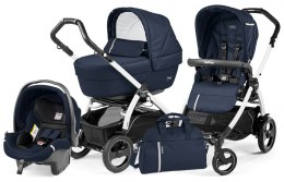 BOOK 51 S ELITE SPORTIVO MODULAR CLASS Peg Perego (Stelaż Book 51 S+Set Elite Sportivo+Siedzisko Pop-Up Sportivo) - class navy