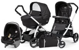 BOOK S ELITE SPORTIVO MODULAR CLASS Peg Perego (Stelaż Book S + Set Elite Sportivo + Siedzisko Pop-Up Sportivo) - class black