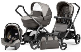 BOOK S ELITE SPORTIVO MODULAR CLASS Peg Perego (Stelaż Book S + Set Elite Sportivo + Siedzisko Pop-Up Sportivo) - class grey
