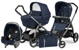BOOK S ELITE SPORTIVO MODULAR CLASS Peg Perego (Stelaż Book S + Set Elite Sportivo + Siedzisko Pop-Up Sportivo) - class navy