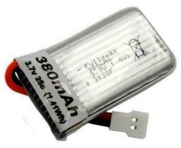 380mAh 3.7V 25C LiPo Walkera/Molex do MJX X906T