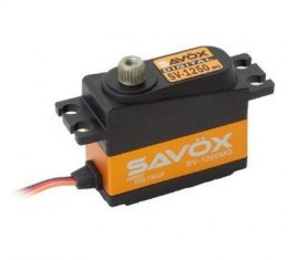 SAVOX HV Mini Metal Gear Servo - SH-1250MG (4.6kg/6.0V, 0.11sek/60*)