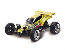 Kart Racing Car Mini 1:52 RTR 27/49MHz - Żółty