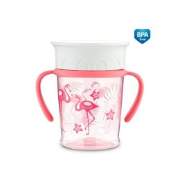 KUBEK 360, 270ML JUNGLE KORAL