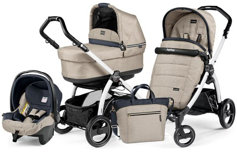 BOOK S POP-UP COMPLETO MODULAR 3w1 Peg Perego - luxe beige