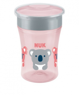 NUK EVOLUTION Magic Cup Kubek niekapek 8m+ 230ml - RÓŻOWY