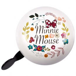 DZWONEK DO ROWERU RETRO MINNIE - FLOWERS