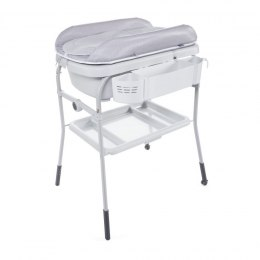 Wanienka z przewijakiem Cuddle & Bubble Comfort 0m+ Chicco - HAPPY SILVER