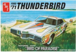 Model plastikowy - 1971 Ford Thunderbird - AMT