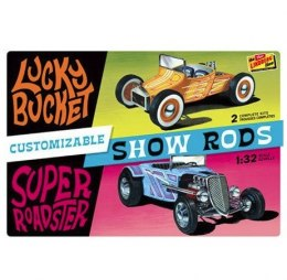 Model plastikowy - Samochód Customizable Street Rod (2-pack) 1:32 - Lindberg