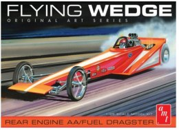 Model plastikowy - Samochód Flying Wedge Dragster 1:25 - Original Art Series - AMT