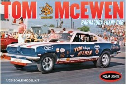 "Model plastikowy - Samochód Tom ""Mongoose"" McEwen 1969 Barracuda Funny Car 1:25 - Polar Lights"