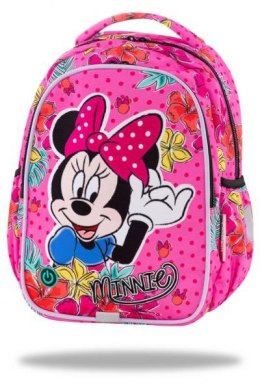 Plecak 2 komorowy 15'' JOY S LED Minnie Mouse tropikal CP 47301