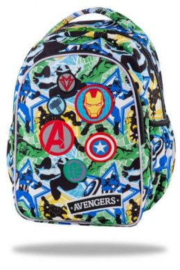 "Plecak 2 komory 15"" JOY S Avengers badges B48308 CoolPack"