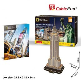 Puzzle 3D 66el Empire State Building. National Geografic DS0977