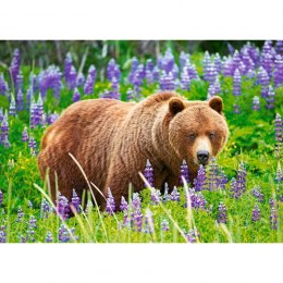 PUZZLE 120EL. BEAR ON MEADOW