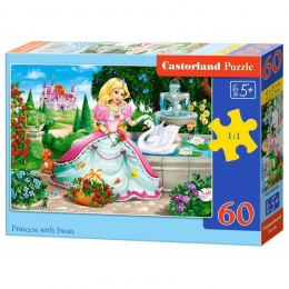 PUZZLE 60EL.PRINCESS WITH SWAN