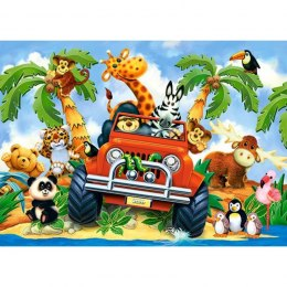 PUZZLE 60EL. SOFTIES ON SAFARI