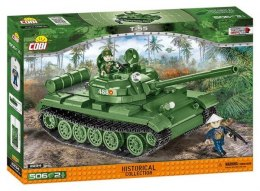 COBI 2234 Historical Collection Vietnam War Wojna w Wietnamie Czołg T-55
