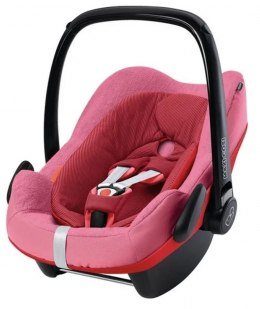 Maxi Cosi Pebble Pro, Rock pokrowiec Frotte - Pink