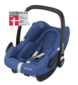 ROCK Maxi-Cosi I-Size do 75cm 0-13kg + Baza FamilyFix One + Frotte Gratis - Essential Blue