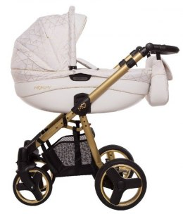 MOMMY Gold Magic 2w1 BabyActive wózek głęboko-spacerowy - 23 Golden Lines
