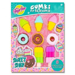 Gumki do ścierania Puzzle Sweet Shop mix 5942