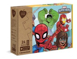 Clementoni Puzzle 24el Maxi Play for future - Marvel Super Hero Adventures 20262