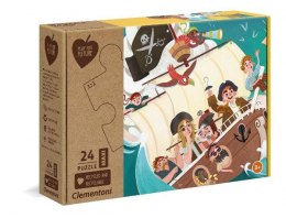 Clementoni Puzzle 24el Maxi Play for future - Yo ho ho! 20258