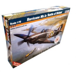 "Model samolotu do sklejania Hurricane Mk.Ia ""Battle of Britain"" 1:72 D-180"