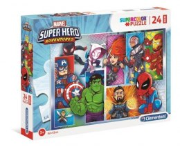Clementoni Puzzle 24el Maxi Super Hero Adventures 24208
