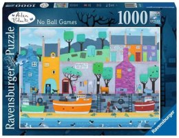 Puzzle 1000el Ailsa Black No Ball Games 164271 RAVENSBURGER