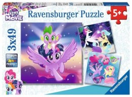 Puzzle 3x49el My Little Pony - Przygoda 080274 RAVENSBURGER