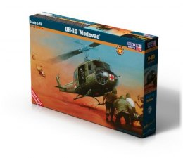 Model helikoptera do sklejania Bell UH-1D Medevac 1:72 D-80