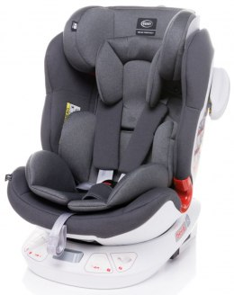 Space-fix fotelik 4baby isofix top tether 0-36kg Siedzisko 360 stopni - GREY