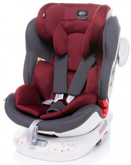 Space-fix fotelik isofix 4baby top tether 0-36kg Siedzisko 360 stopni - RED