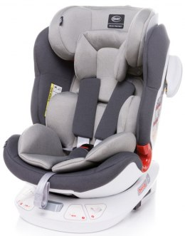 Space-fix fotelik 4baby isofix top tether 0-36kg Siedzisko 360 stopni - LIGHT GREY