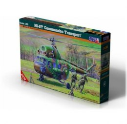 "Model helikoptera do sklejania Mi-2T ""Commandos Transport"" 1:72 SD-152"