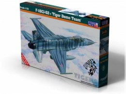 "Model samolotu do sklejania F-16J-52+ ""Tiger Demo Team"" 1:72 SD-115"
