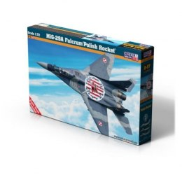 "Model samolotu do sklejania MiG-29A Fulcrum ""Polish Rocket"" 1:72 D-97"