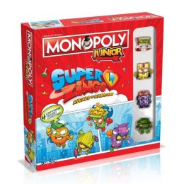 Monopoly Junior Super Zings 040020 WINNING MOVES