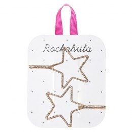 Rockahula Kids - wsuwki do włosów Starry Cut out Glitter Gold