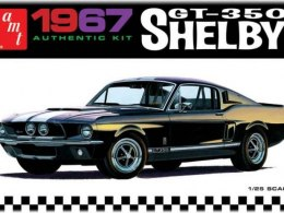 Model Plastikowy Do Sklejania AMT (USA) - 1967 Shelby GT350 (White)
