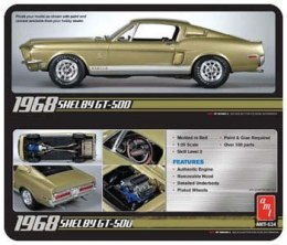 Model Plastikowy Do Sklejania AMT (USA) - 1968 Shelby GT500